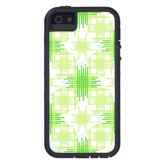 Intersecting Lines Pattern iPhone 5 Cases