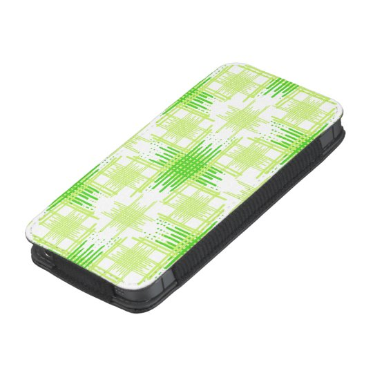 Intersecting Lines Pattern iPhone Pouch