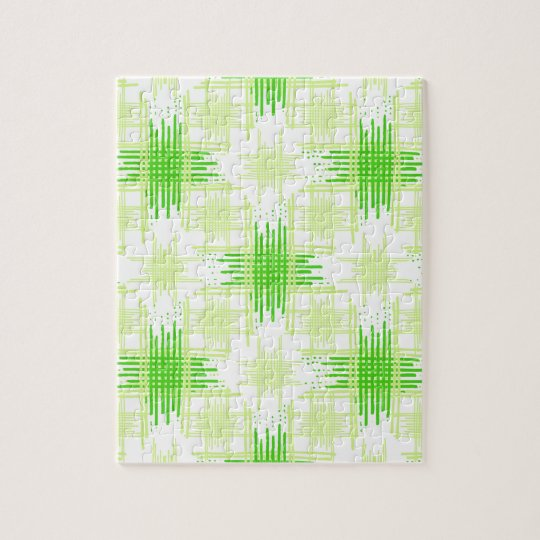 Intersecting Lines Pattern Jigsaw Puzzle