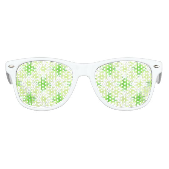 Intersecting Lines Pattern Kids Sunglasses