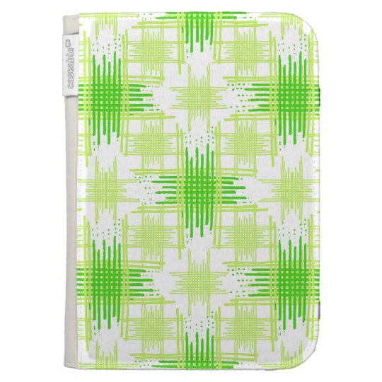 Intersecting Lines Pattern Kindle Keyboard Covers