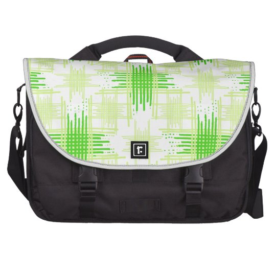Intersecting Lines Pattern Laptop Bags