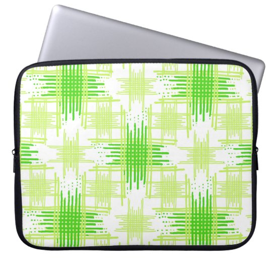 Intersecting Lines Pattern Laptop Sleeve