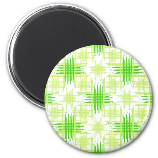 Intersecting Lines Pattern Magnet