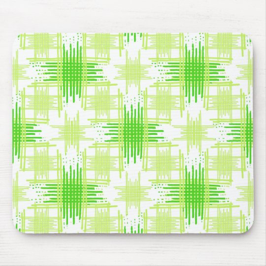 Intersecting Lines Pattern Mouse Pad