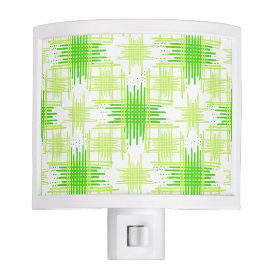 Intersecting Lines Pattern Night Lite