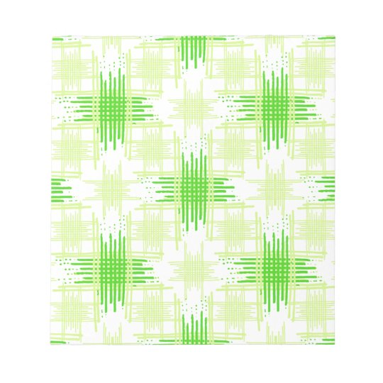 Intersecting Lines Pattern Notepad