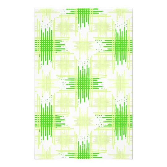 Intersecting Lines Pattern Stationery