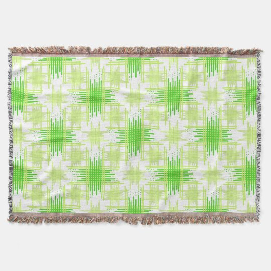 Intersecting Lines Pattern Throw Blanket