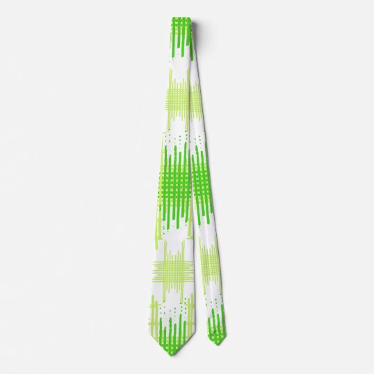 Intersecting Lines Pattern Tie