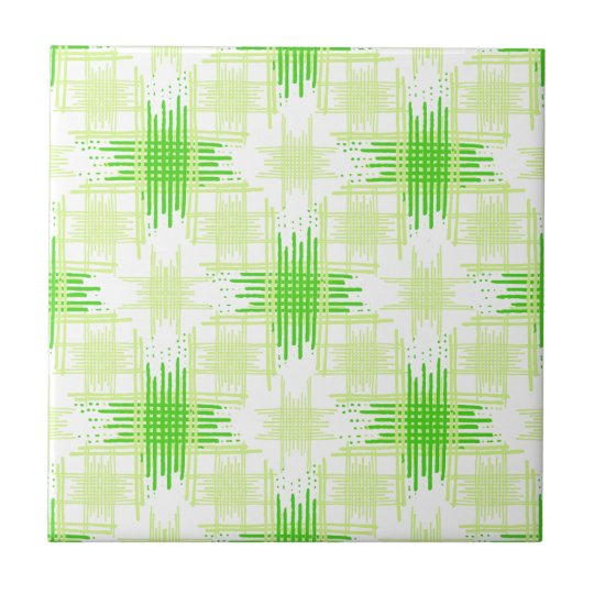 Intersecting Lines Pattern Tile