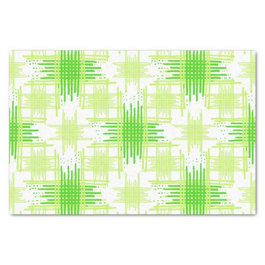 Intersecting Lines Pattern Tissue Paper