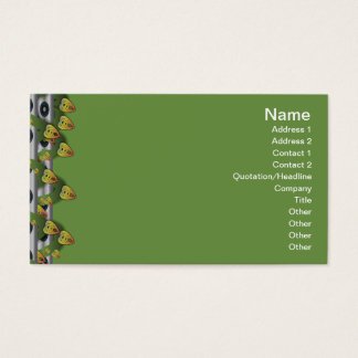 Intersecting Patterns Business Card