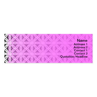 Intersecting Patterns Business Cards
