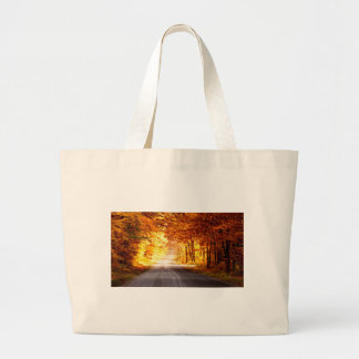 INTERSECTION OF LIGHT AND COLOUR LARGE TOTE BAG