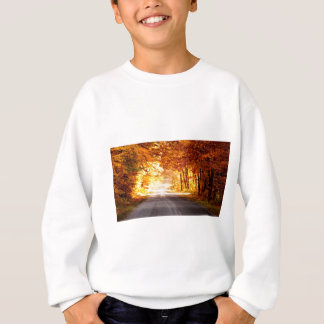 INTERSECTION OF LIGHT AND COLOUR SWEATSHIRT