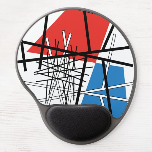 Intersection of Lines & Planes Gel Mousepad