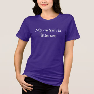 Intersex Autism T-Shirt