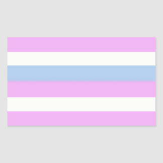 Intersex flag stickers