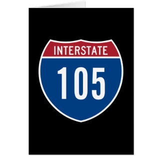 Interstate 105 card