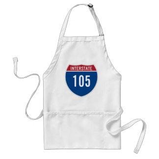Interstate 105 standard apron