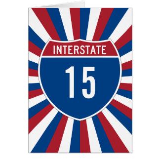 Interstate 15 card