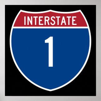 Interstate 1 poster