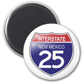 Interstate 25 in New Mexico Magnet