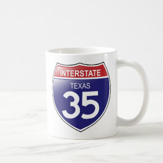 Interstate 35 in Texas Mug