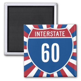 Interstate 60 magnet