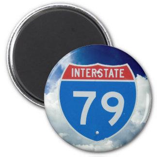 Interstate 79 Shield, Highway Sign Magnet