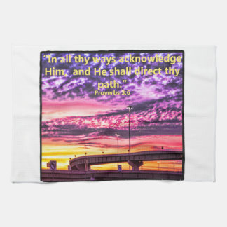 interstate-at-sunrise towels