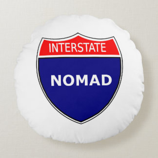Interstate Nomad: Pillow, Round Round Pillow