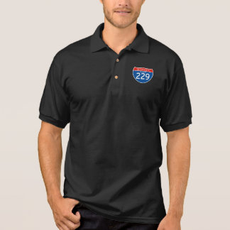 Interstate Sign 229 - Missouri Polo Shirt