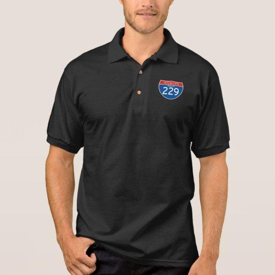 Interstate Sign 229 - Missouri Polo Shirt