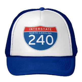 Interstate Sign 240 - North Carolina Trucker Hat