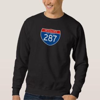 Interstate Sign 287 - New Jersey Sweatshirt