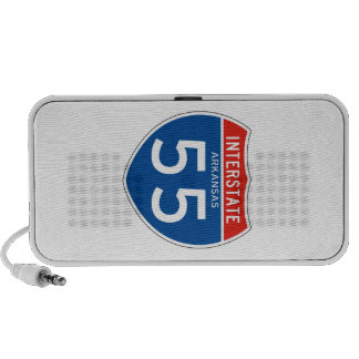 Interstate Sign 55 - Arkansas iPhone Speakers