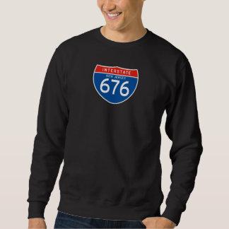 Interstate Sign 676 - New Jersey Sweatshirt