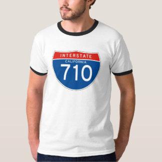 Interstate Sign 710 - California T-Shirt