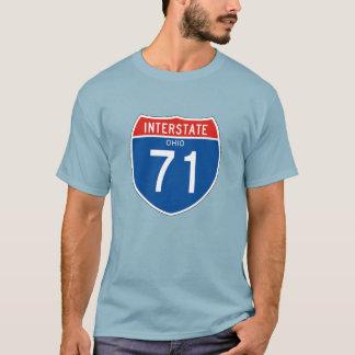 Interstate Sign 71 - Ohio T-Shirt