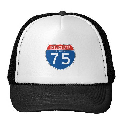 Interstate Sign 75 - Kentucky Mesh Hat