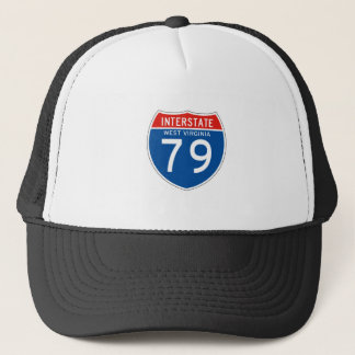 Interstate Sign 79 - West Virginia Trucker Hat