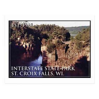 Interstate State Park Postcard