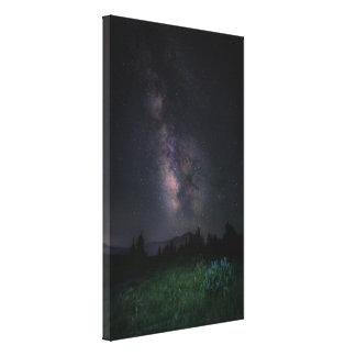 Interstellar art canvas print