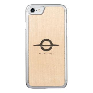 Interstellar - Gargantua minimalist Carved iPhone 8/7 Case