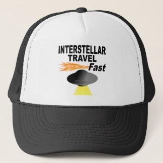 Interstellar Travel Fast Trucker Hat