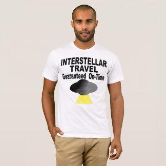 Interstellar Travel Guaranteed On Time T-Shirt