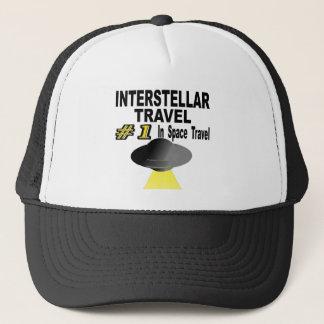 Interstellar Travel Number One In Space Travel Trucker Hat