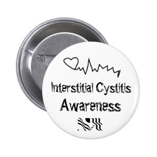 Interstitial cystitis Awareness 2 Inch Round Button